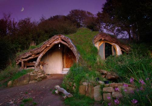 Hogares insólitos. Vivir en una casa hobbit.
