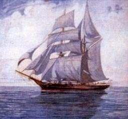 Mary Celeste, el barco cuya tripulación desapareció.