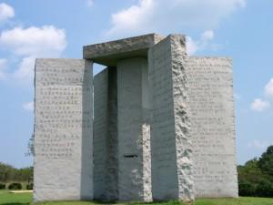 «Georgia Guidestone», un enigmatico monumento.