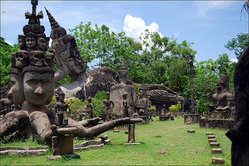 Xieng Khuan, el Parque de los Budas que construyó un venerable anciano