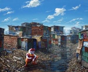 «Dismayland», donde la fantasía se encuentra con la pobreza extrema.
