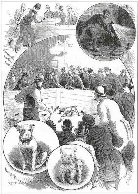 Juegos, juguetes y entretenimientos victorianos (para niños y adultos) Perros
