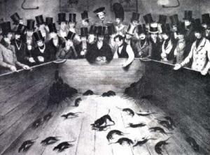 Los «pozos de ratas», un curioso entretenimiento de la Inglaterra Victoriana.