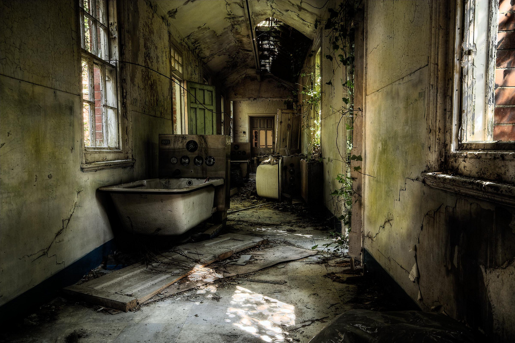 Hospitales abandonados. El sanatorio mental Hellingly.
