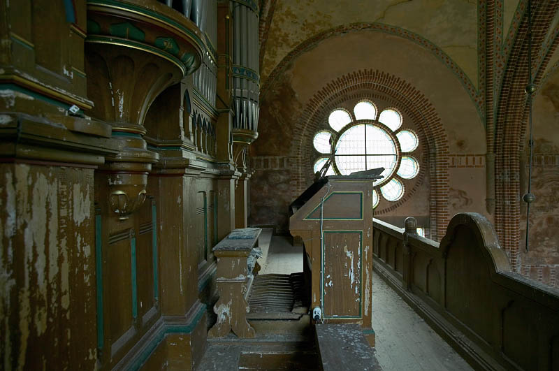 La iglesia abandonada de Maglarp