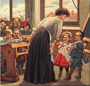 Contrato de Maestra en 1923.