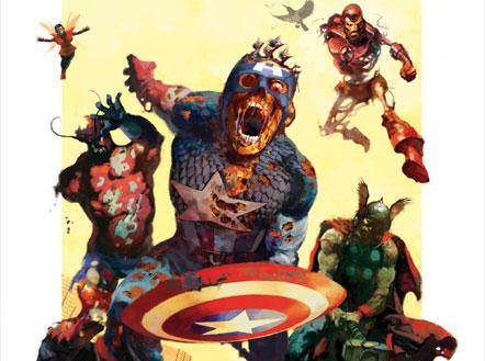 Los Superhéroes de la Marvel convertidos en zombies. | Tejiendo el ...