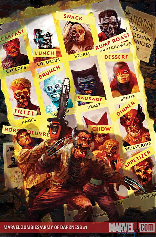 Marvel zombies army of darkness