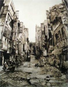 Hisaharu Motoda y su Tokio post-apocaliptico.