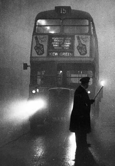 El «Gran Smog» de 1952. La niebla que mató a miles de londinenses.