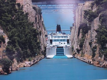 Resultado de imagen para Canal de Corinto