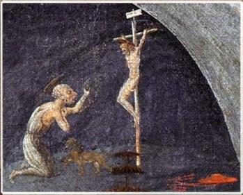 crucifixion OVNI