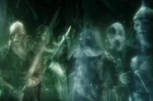 Batallas de fantasmas donde ocurrieron batallas reales.