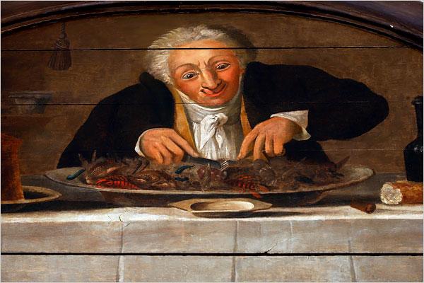 La revolución francesa y la invención del restaurante.