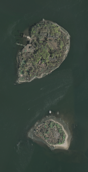 LUGARES ABANDONADOS-LUGARES OLVIDADOS (sitios fantasma en el mundo) North_brother_south_brother_islands