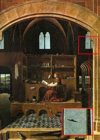 Pinturas antiguas relacionadas con la Biblia Ovni
