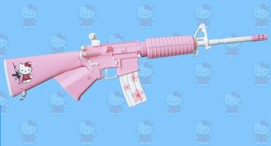 HELLO KITTY  Y SU LADO OSCURO Arma