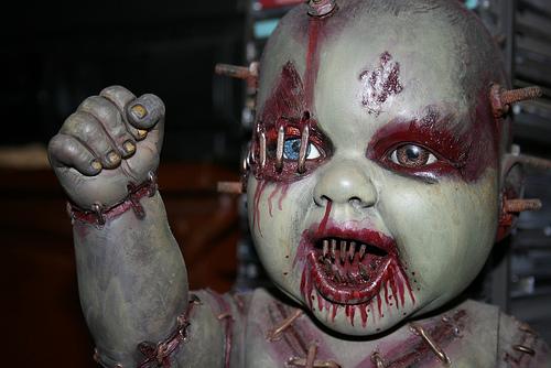 Autopsy Babies. Muñecos no aptos para tiendas de juguetes. Babie-gore