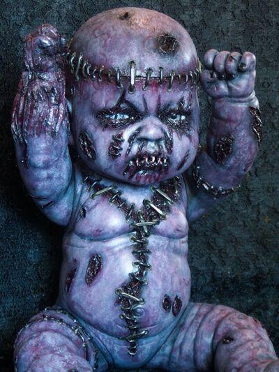 Autopsy Babies. Muñecos no aptos para tiendas de juguetes. Babie-horror