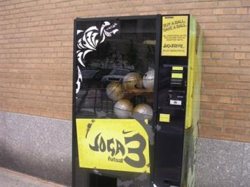 Máquinas expendedoras poco habituales *O* Basket