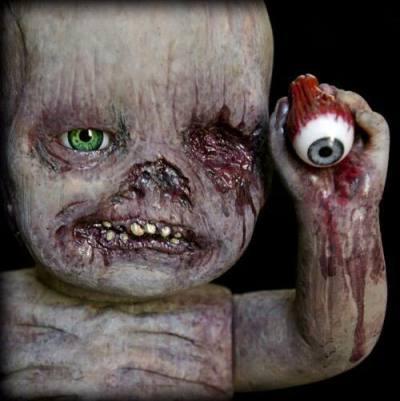 Autopsy Babies // Muñecos no aptos para tiendas de juguetes. Bebes-terrorificos