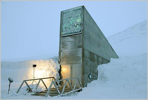 La Bóveda global de semillas de Svalbard. ¿Las semillas del futuro?