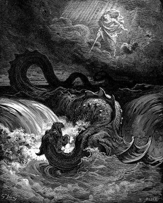 Bestias bíblicas. Behemot y el Leviatán.