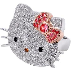 ♥La historia verdadera de Hello Kitty♥ Diamantes