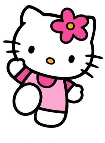 hello kitty amor sticker