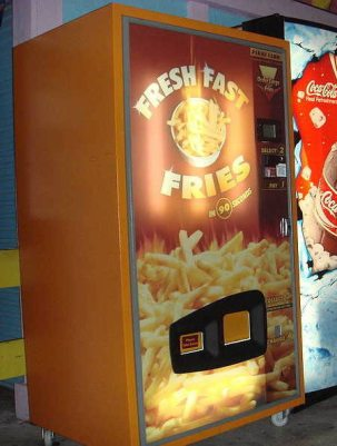 Máquinas expendedoras poco habituales *O* Patatas