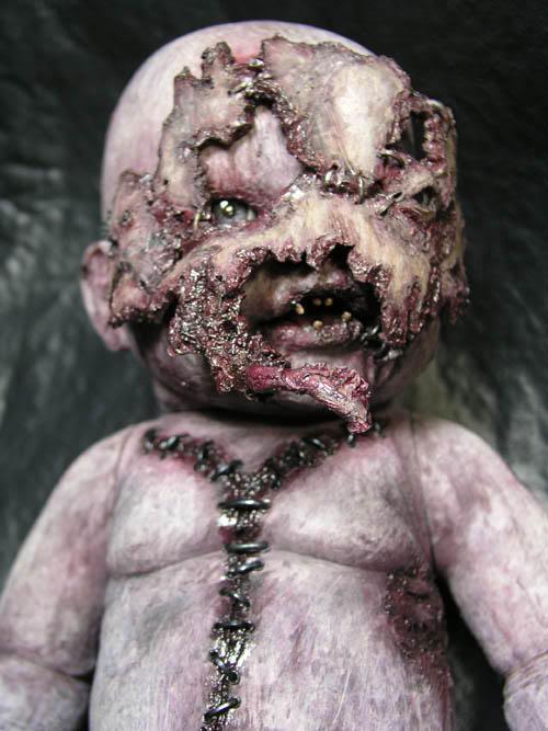 Autopsy Babies. Muñecos no aptos para tiendas de juguetes. Phobia