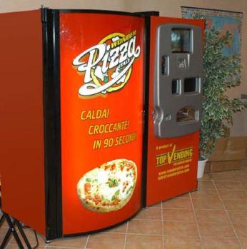 Máquinas expendedoras poco habituales *O* Pizza