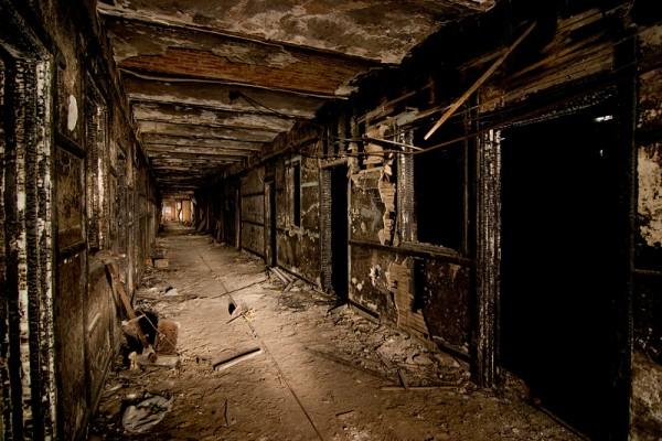 Abandonos. Jackson sanatorium.