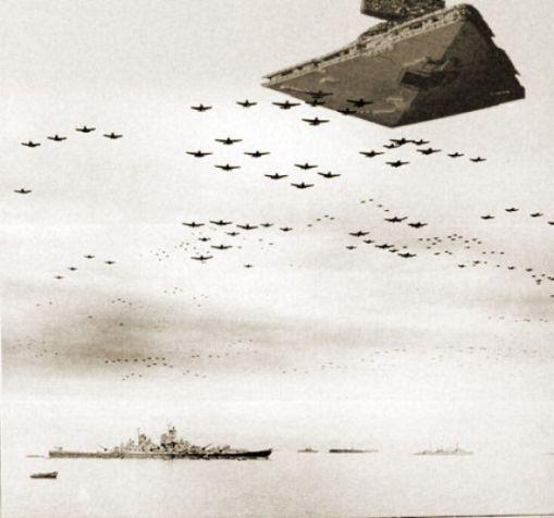 Star Wars en la II guerra mundial.