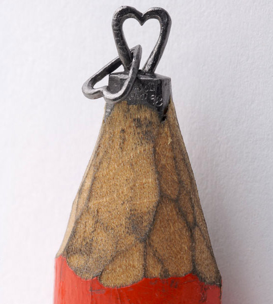Dalton Guetti, sacando punta al arte. Micro-esculturas en lápices.