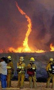 El fuego del diablo. Cuando los tornados se convierten en fuego.