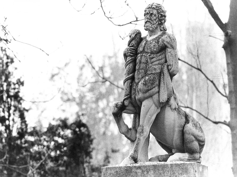 Seres fabulosos de la mitología griega. Los centauros.