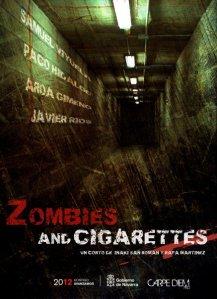 «Zombies y Cigarretes» un premiado corto sobre zombies.
