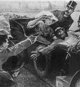 El coche maldito en el que se desencadenó la primera guerra mundial.