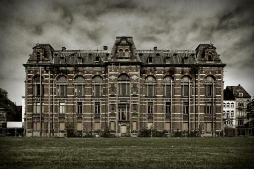 Escuela  veterinaria abandonada