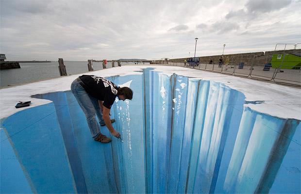 Arte de la perspectiva/Ilusiones ópticas - Página 3 Hielo