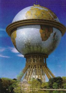 El monumento a Colón, un colosal proyecto que nunca vió la luz.