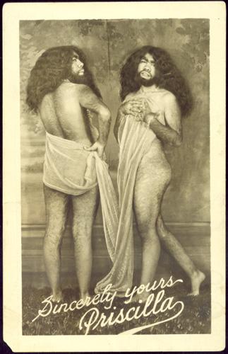 """Freak show. Percilla Bejano, """"la mujer mono""""."""