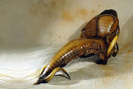 Sillones Raros.Muebles Inspirados En Insectos Y Animales Salvajes El