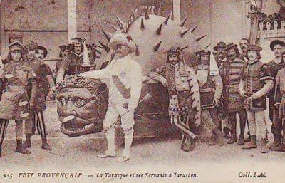 Criaturas legendarias. La leyenda de Santa Marta y la Tarasque.