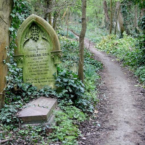 Cementerio de Abney Park, otro mundo en el centro de Londres