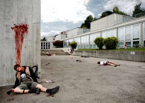 David Houncheringer y su trabajo: ¿Quieres morir hoy?.
