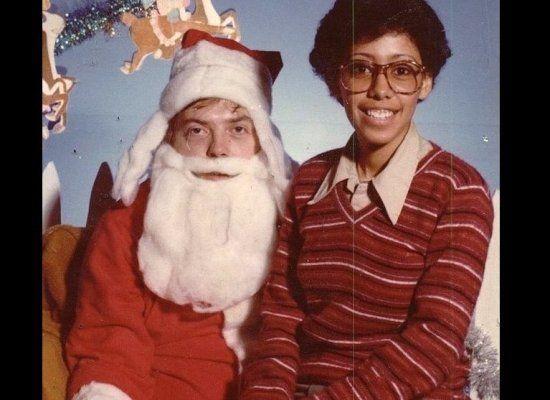 Hasta Santa Claus puede tener un mal día