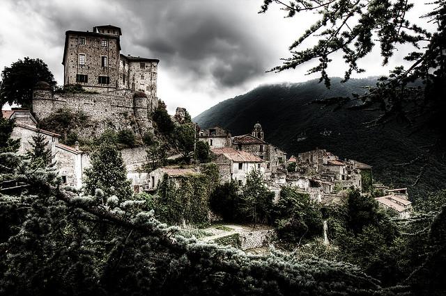 Pueblos fantasma: Balestrino, Italia.