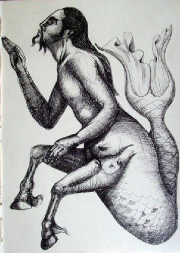 Criaturas de la mitología clásica. Los Ictiocentauros.